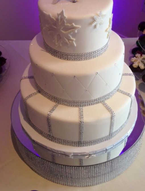 Wedding Cake Platform (cookies, Deserts Etc)