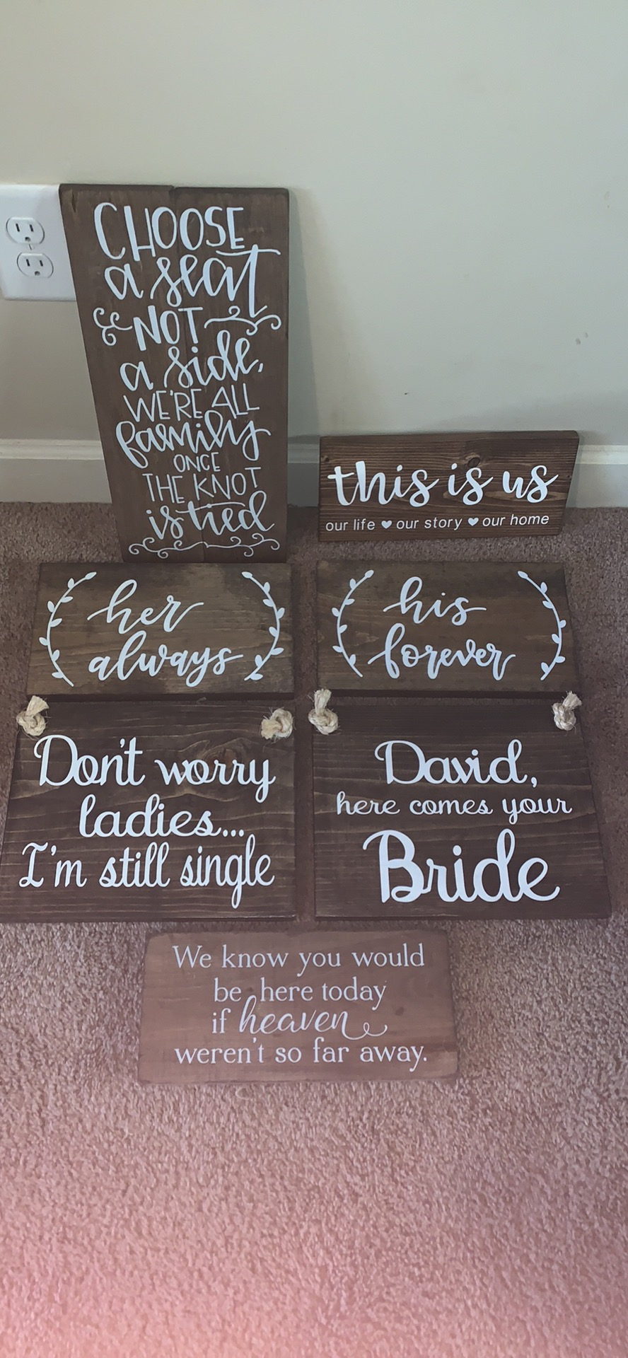 Wooden Wedding Signs.Misc Wooden Wedding Signs Wedding Sign Size Only 10 00
