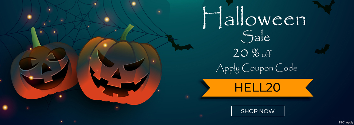 Halloween Sale Flat 20% Off On Wedding Invitations