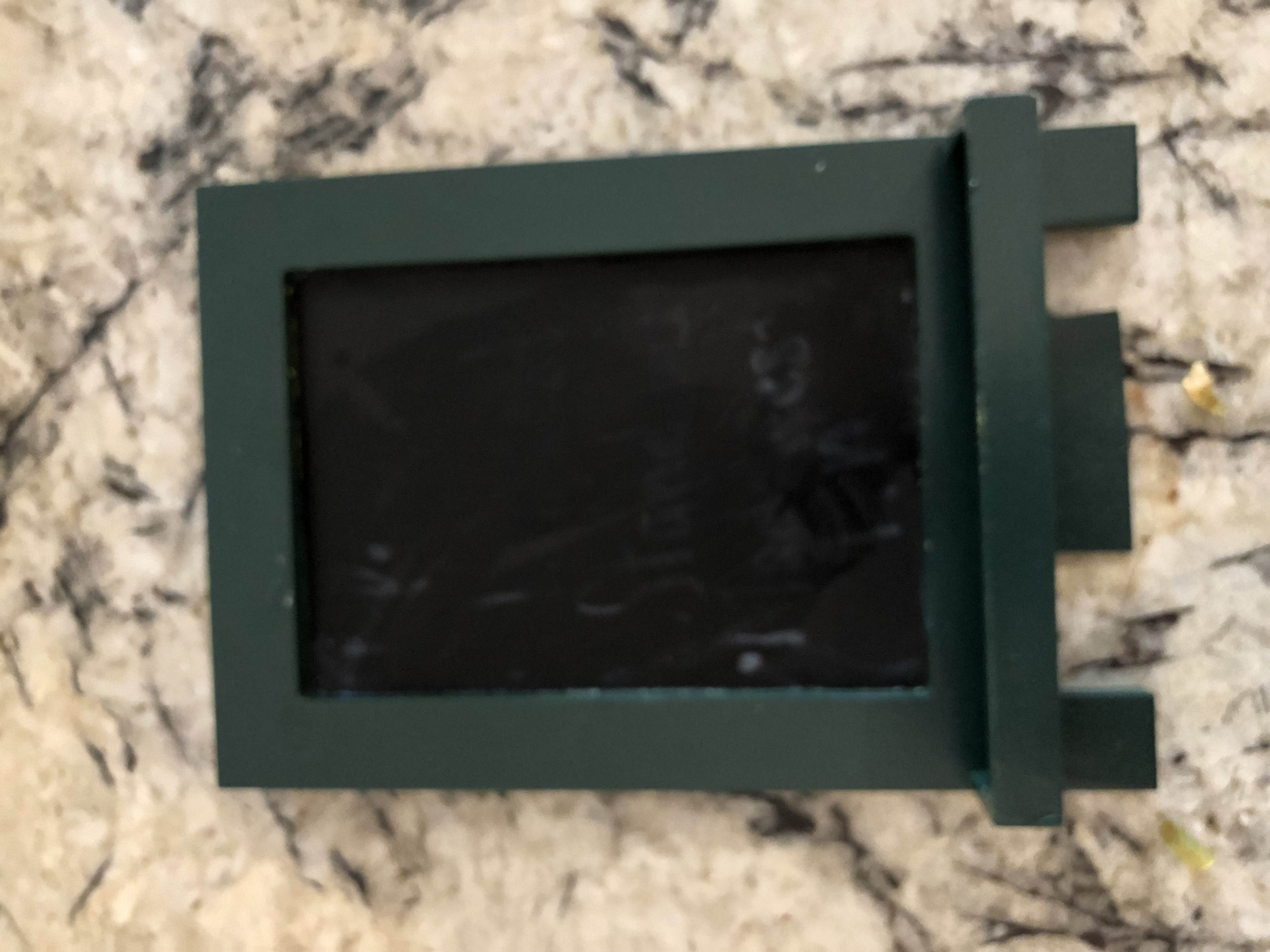 2 Emerald/hunter Green Chalkboard Signs