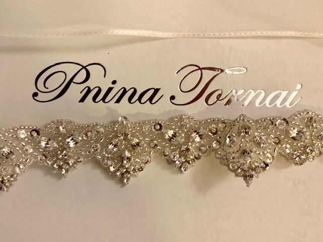 Pnina Tornai Belt Sash Swarovski Crystal New Unused