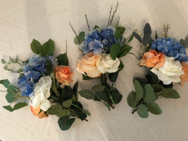 Bouqets For Centerpiece Or Bridesmaids