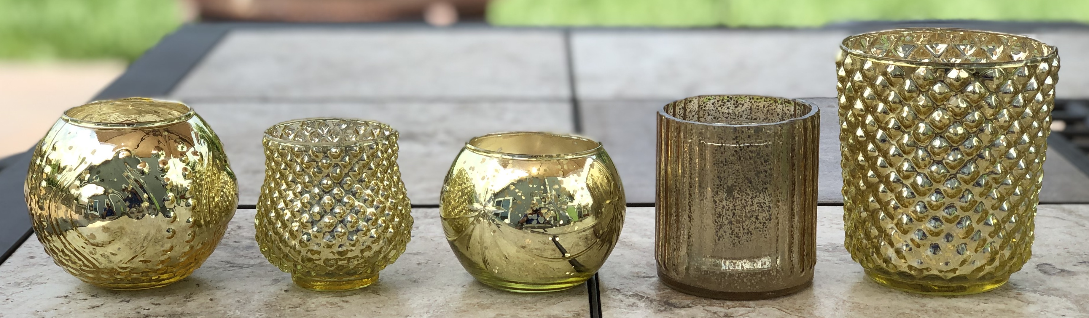 Gold Candle Holders (28)