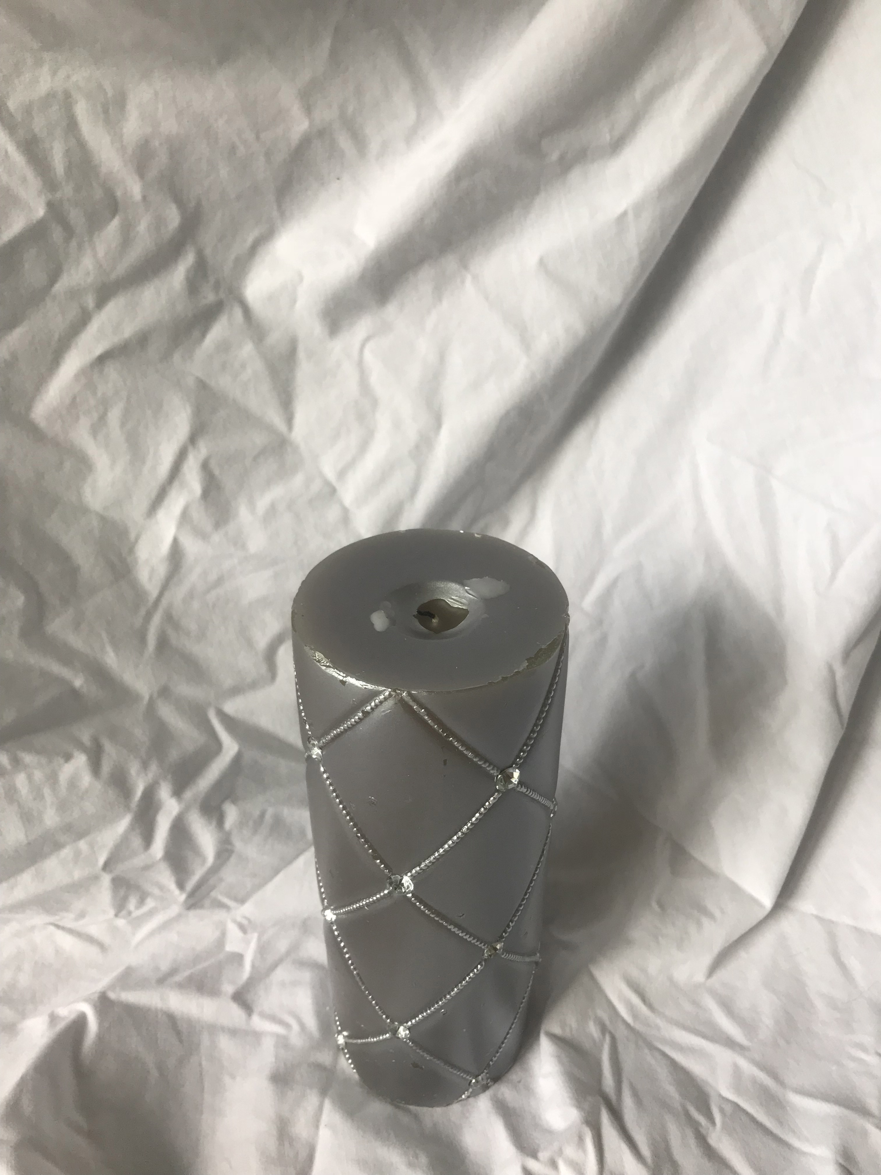 Silver Unity Candle