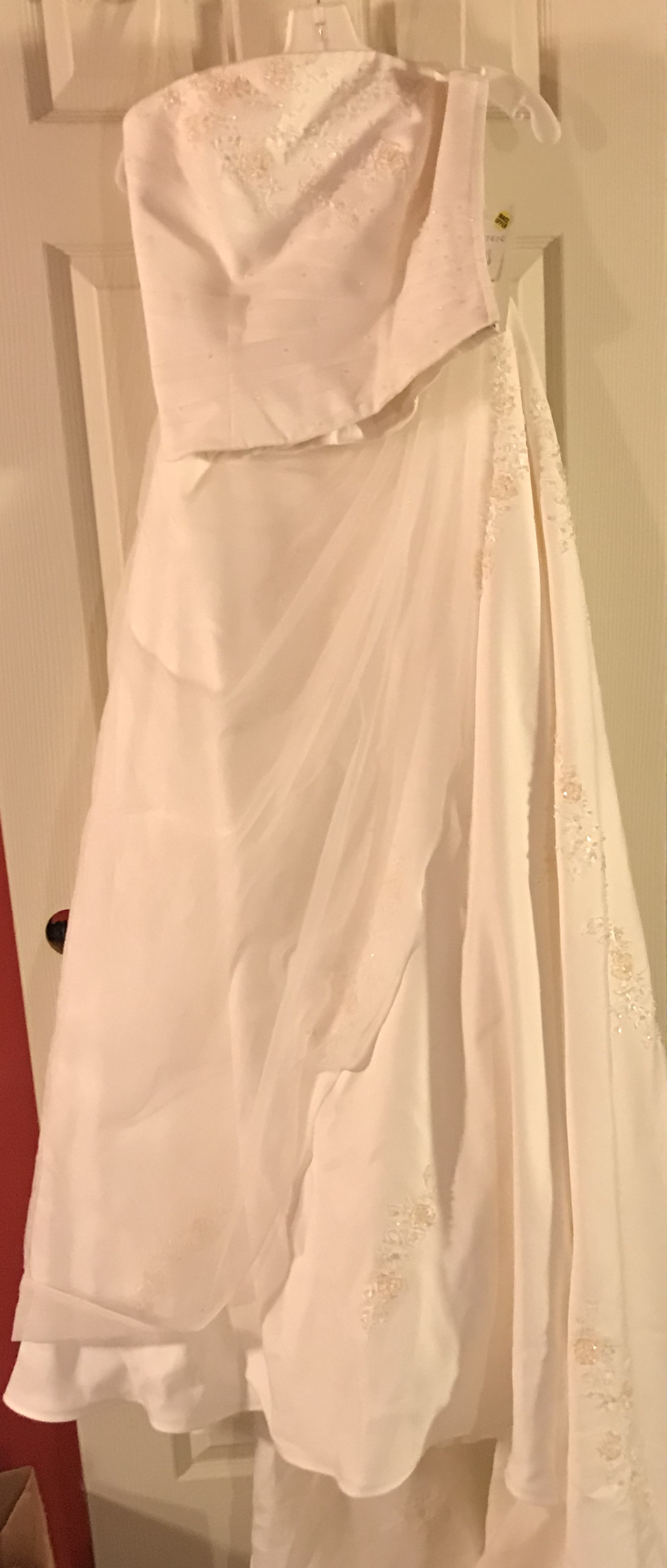 Two Piece Wedding Gown-new With Tags | Size: 10 | Bridal Gown ...