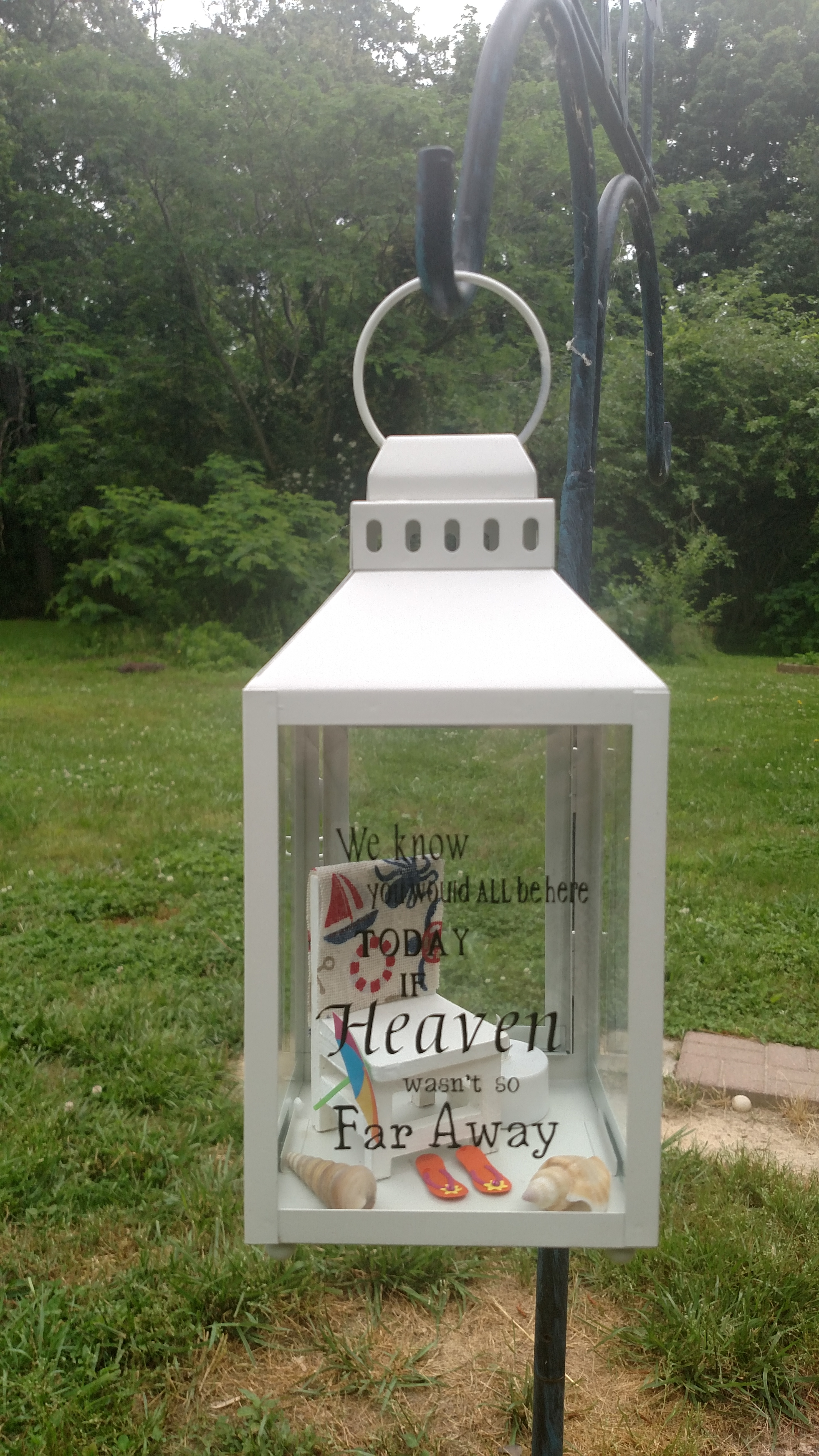 Lantern For Loved Ones Who Have Passed Away