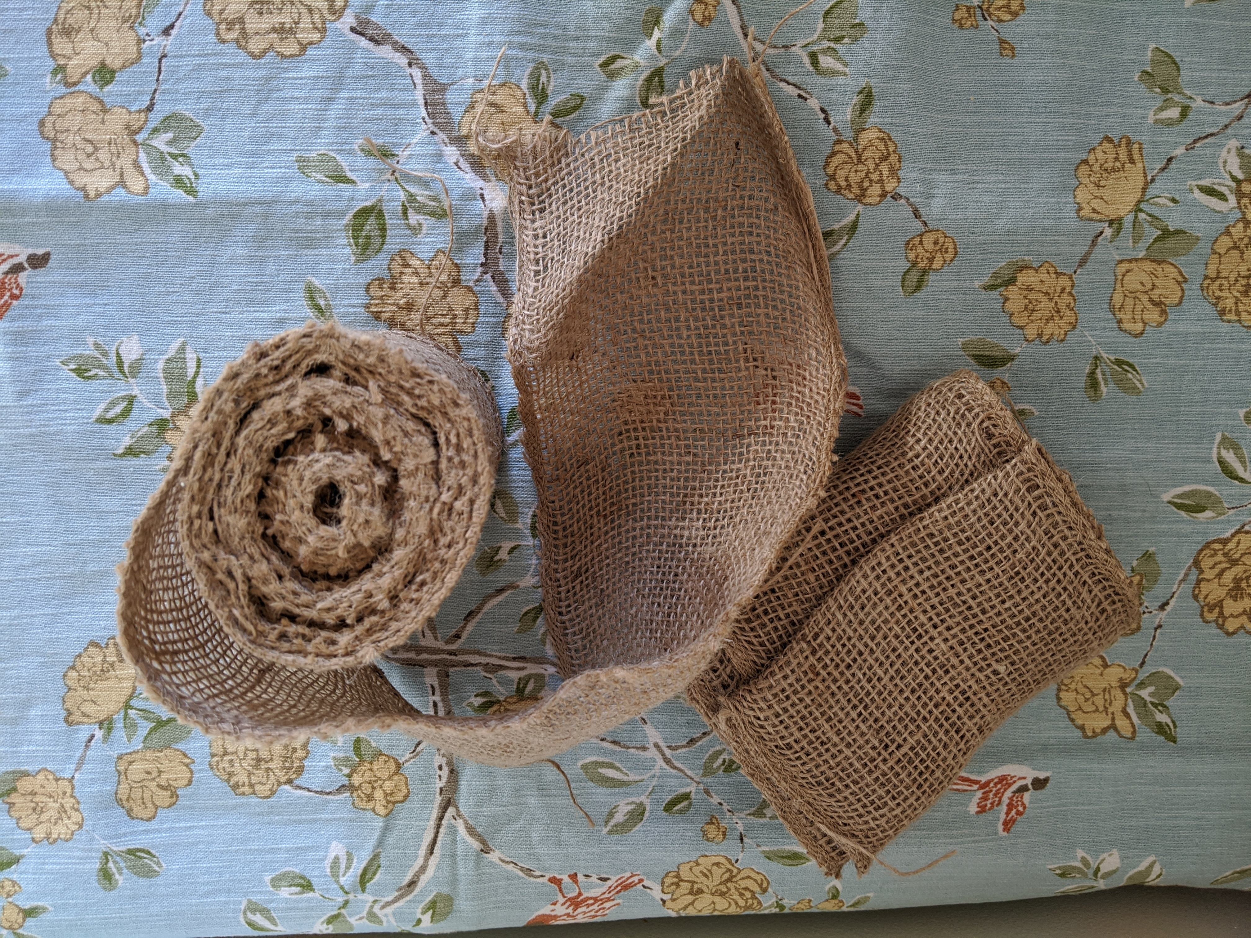 Burlap Accent Strip