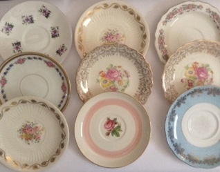 Vintage Mismatched China