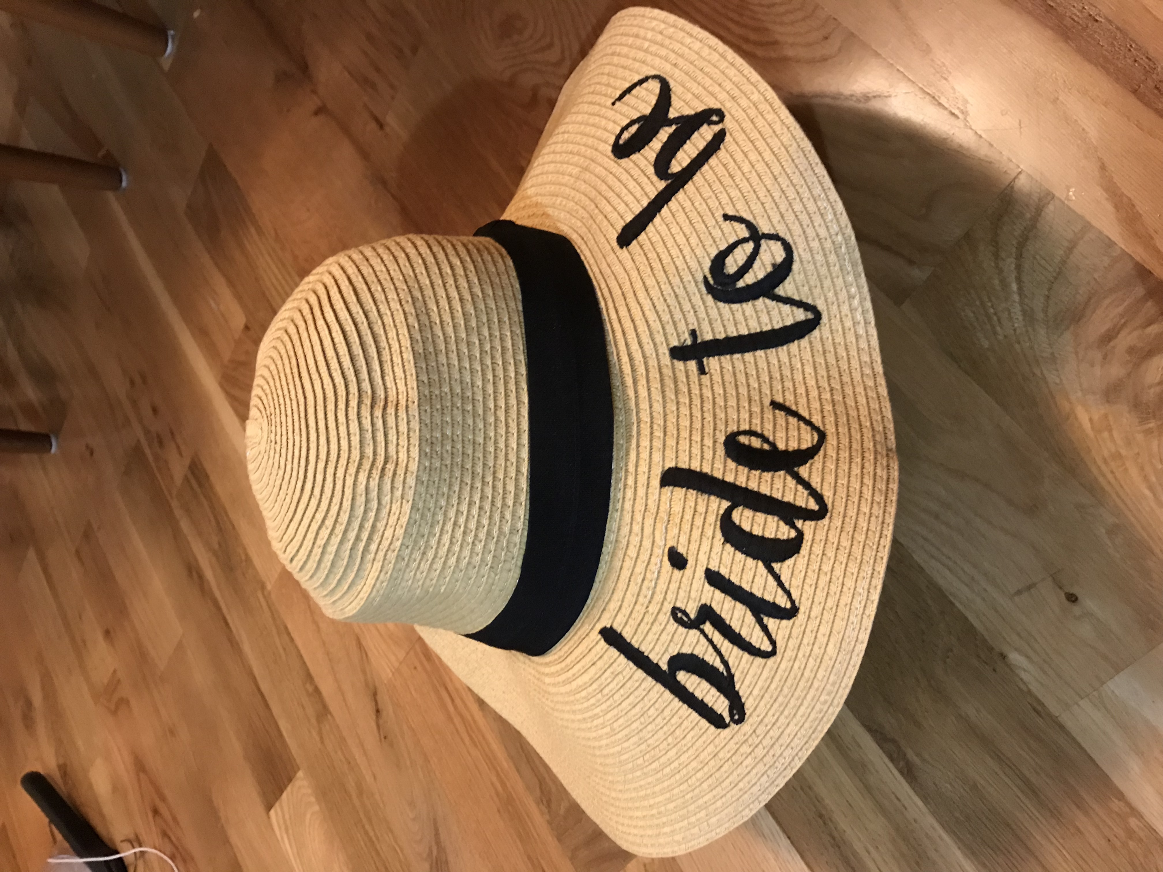 Bride To Be Beach Hat