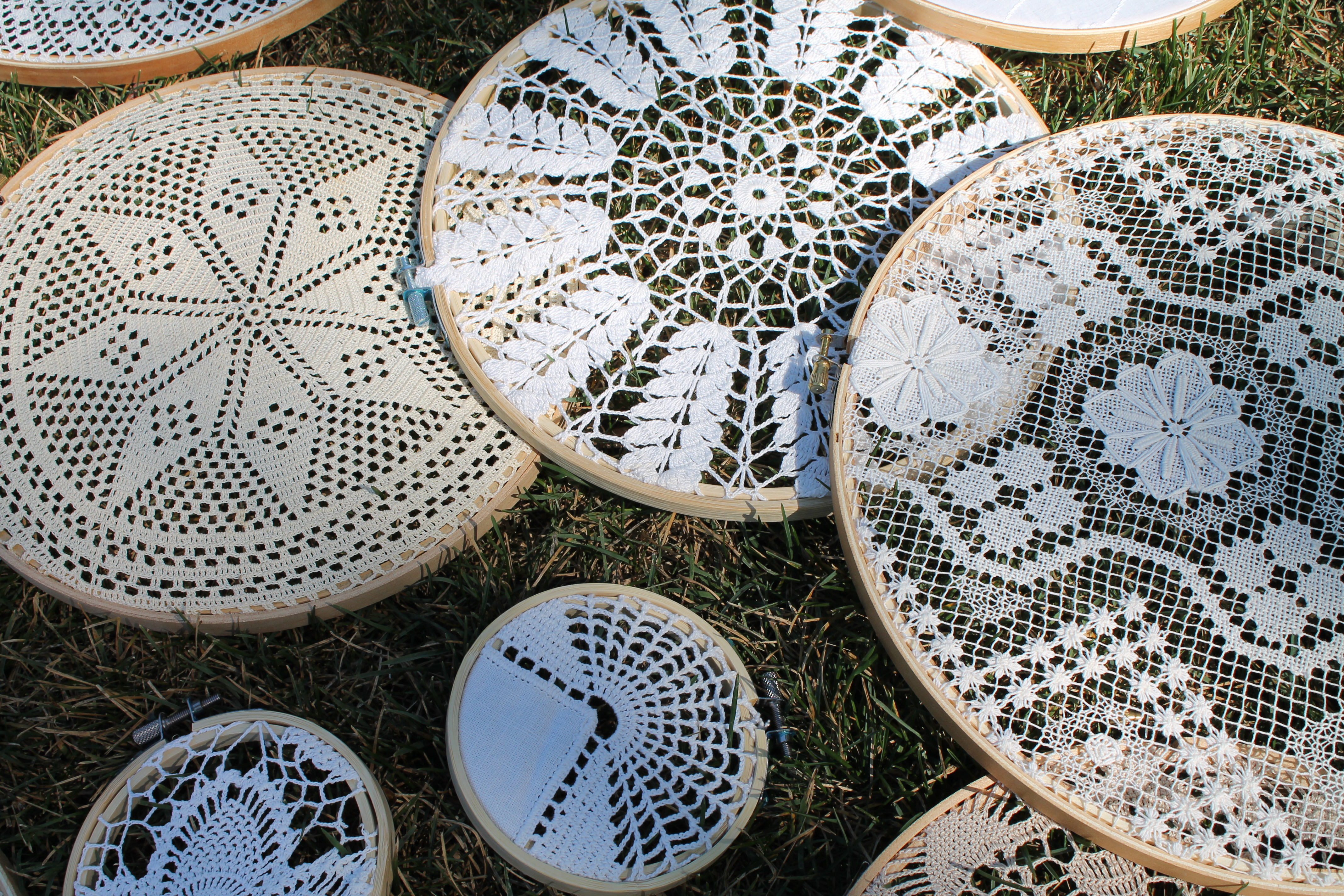 Lace Embroidery Hoops