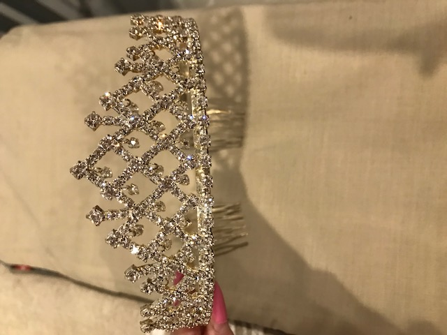 Silver Jeweled Tiara