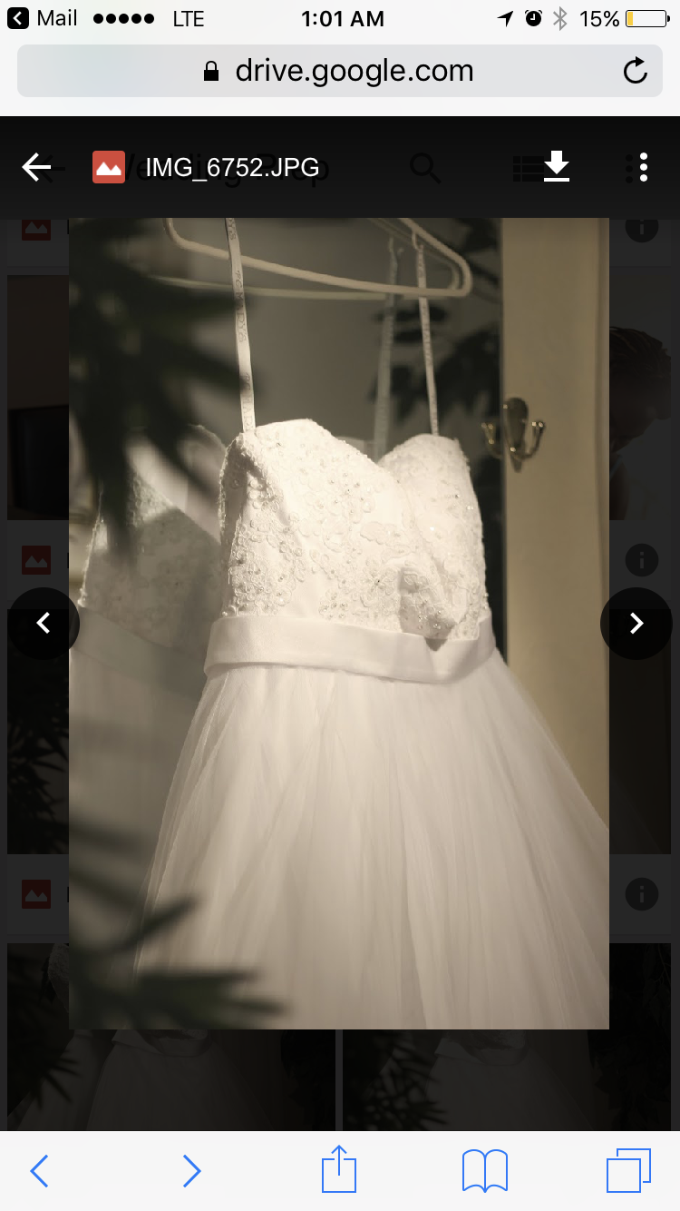 Wedding Dress Like New