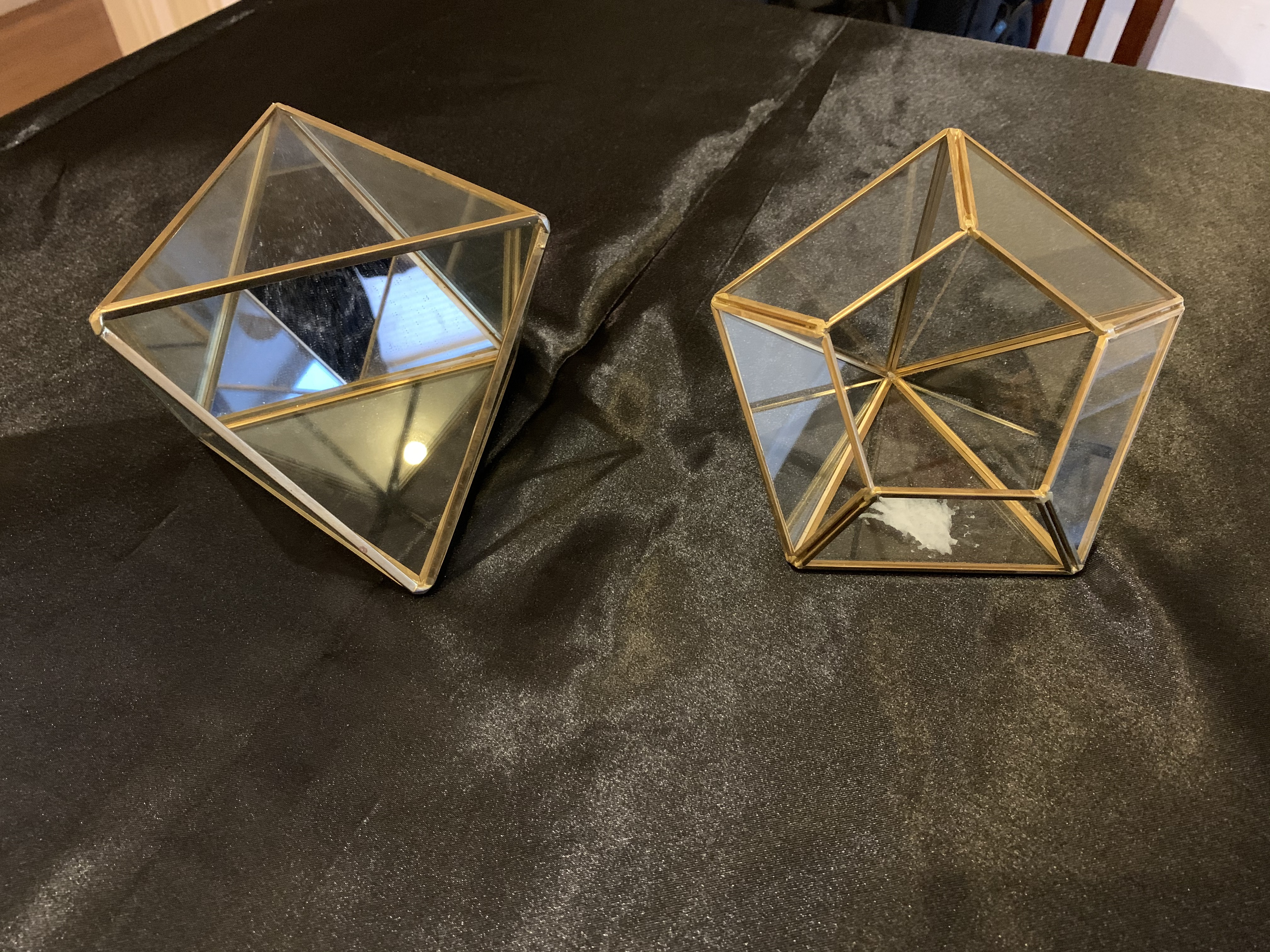 Diamond Shaped Terrariums