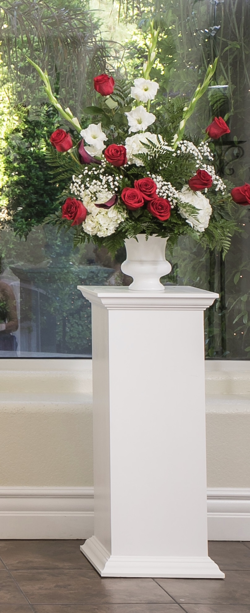 Two Pillars For Altar And/or Reception Flowers