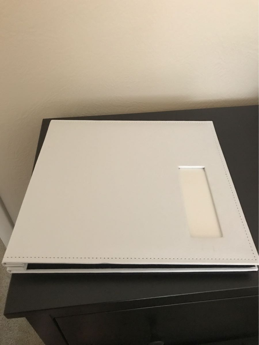 White Guestbook Or Photo Booth Album Plus Pens