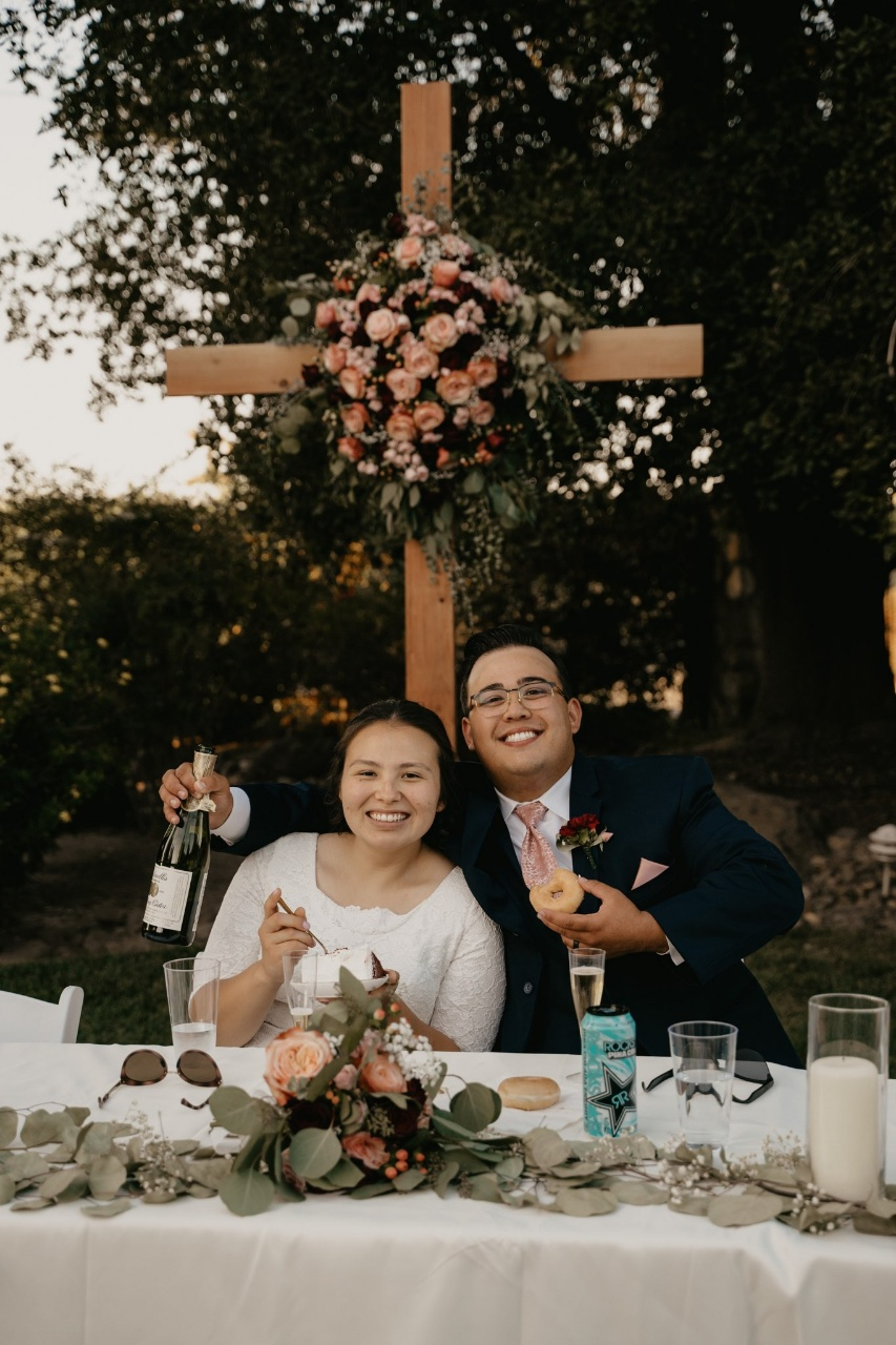 Wooden Wedding Cross