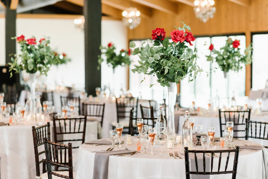 Timeless Rose  Centerpieces