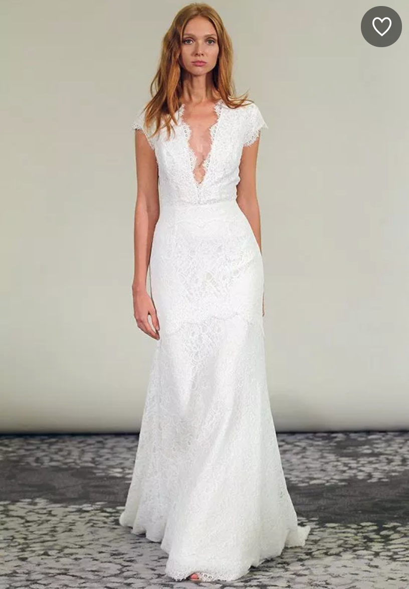 Alyne bridal - Adella By Alyne Bridal French Lace Wedding Dress