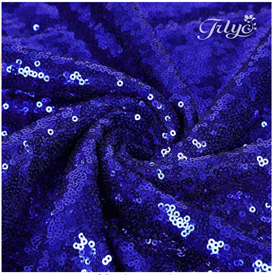 "12""x108"" Royal Blue Sequin Table Runner(s)"