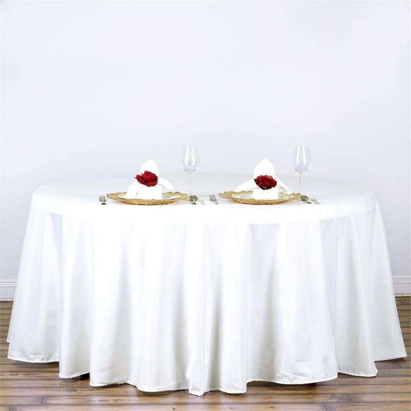 White Table Linens (3 Sizes)