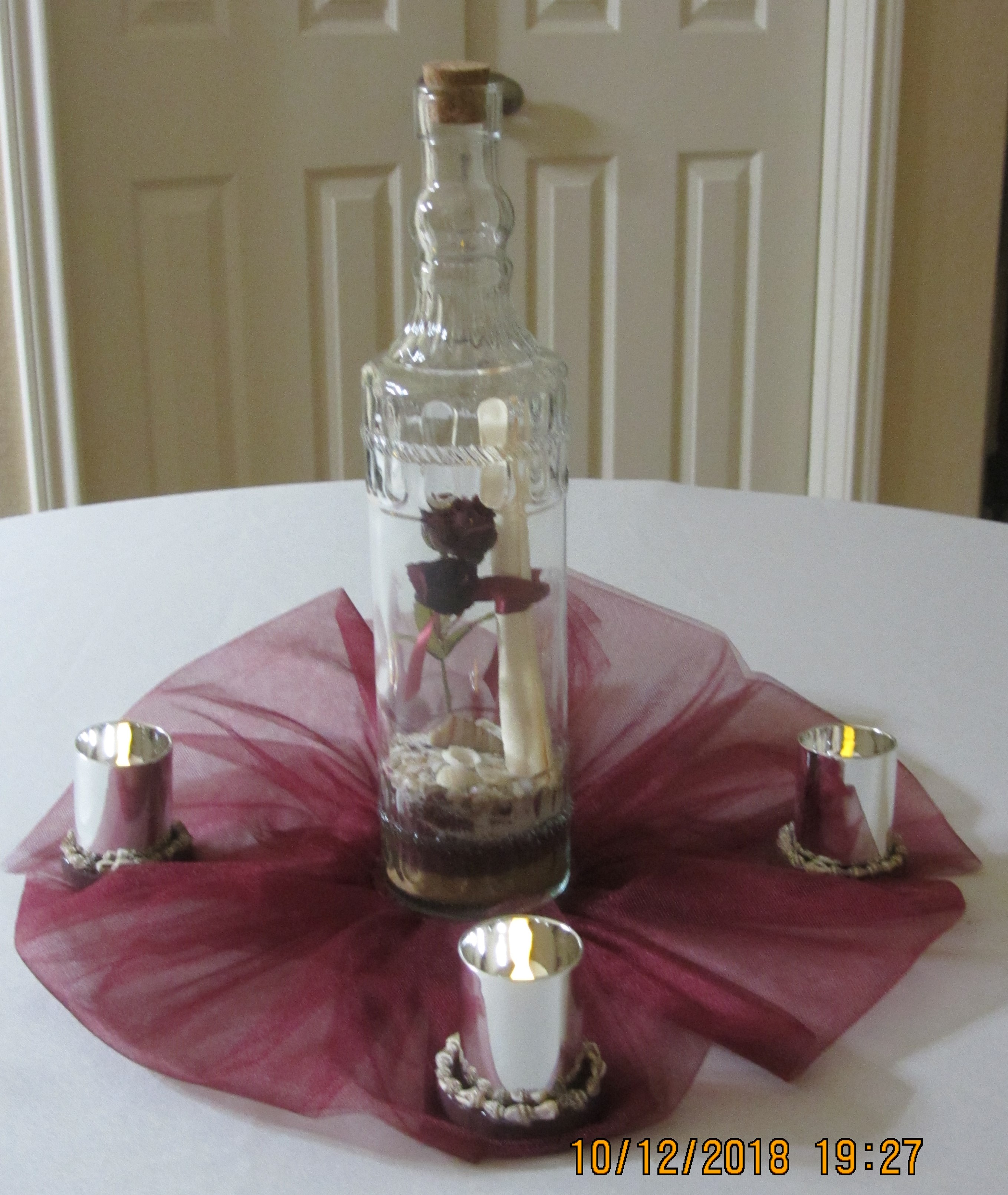 Message-in-a-bottle Centerpieces