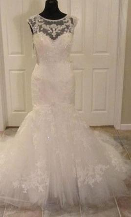 Casablanca 2110 Nwt Wedding Dress