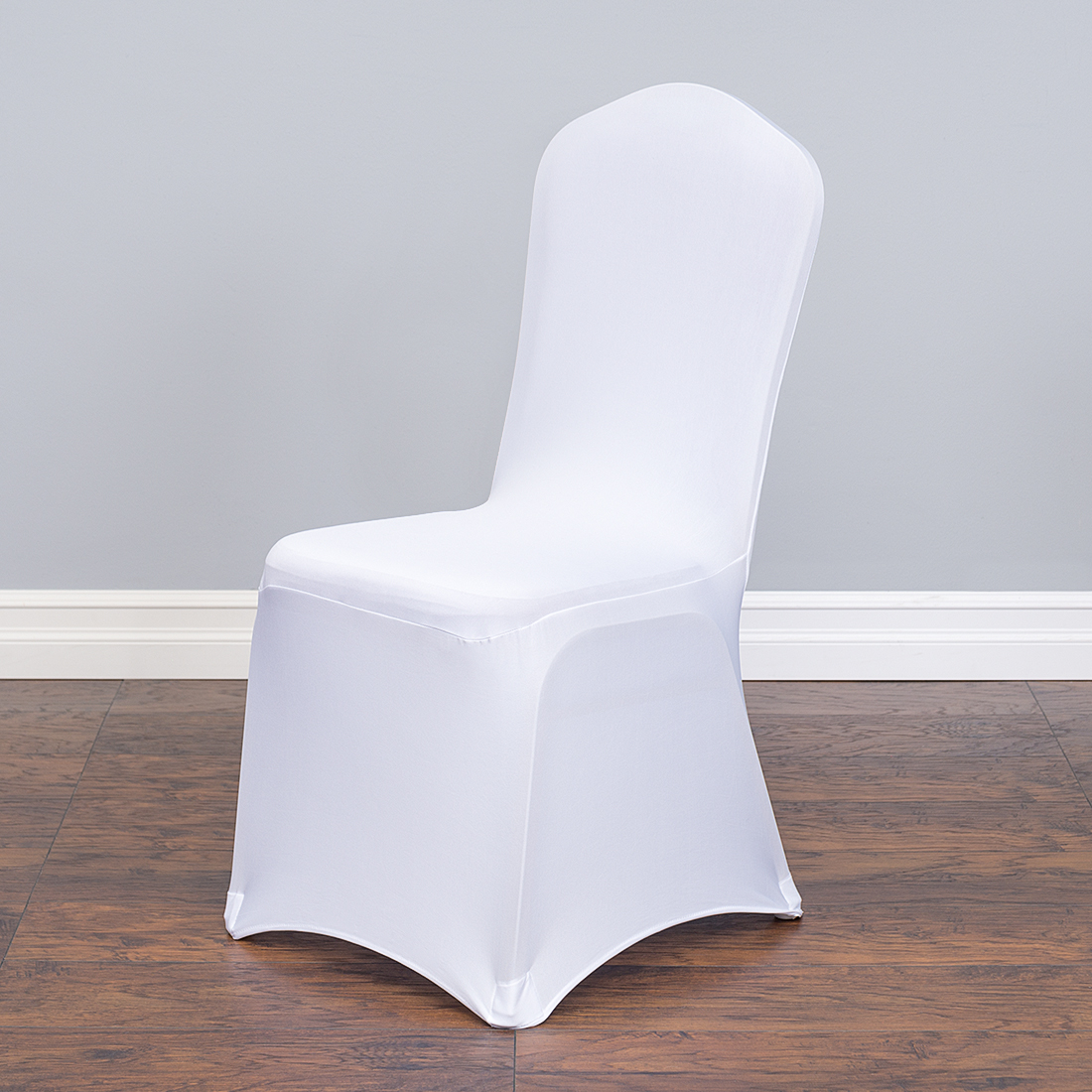 250 White Round Top Chair Covers