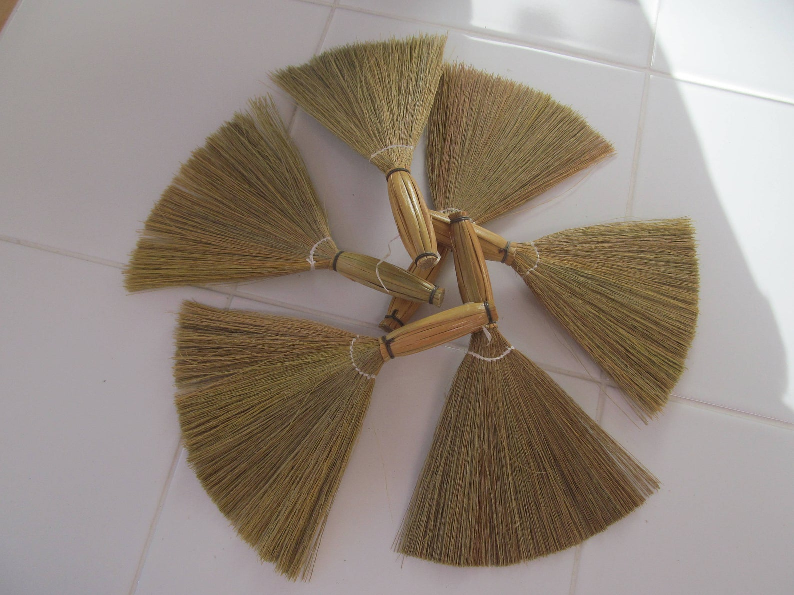 Set Of 6 Mini Brooms For Wedding Favors Or Craft Projects | Wedding Broom Favor | Broom Dolls