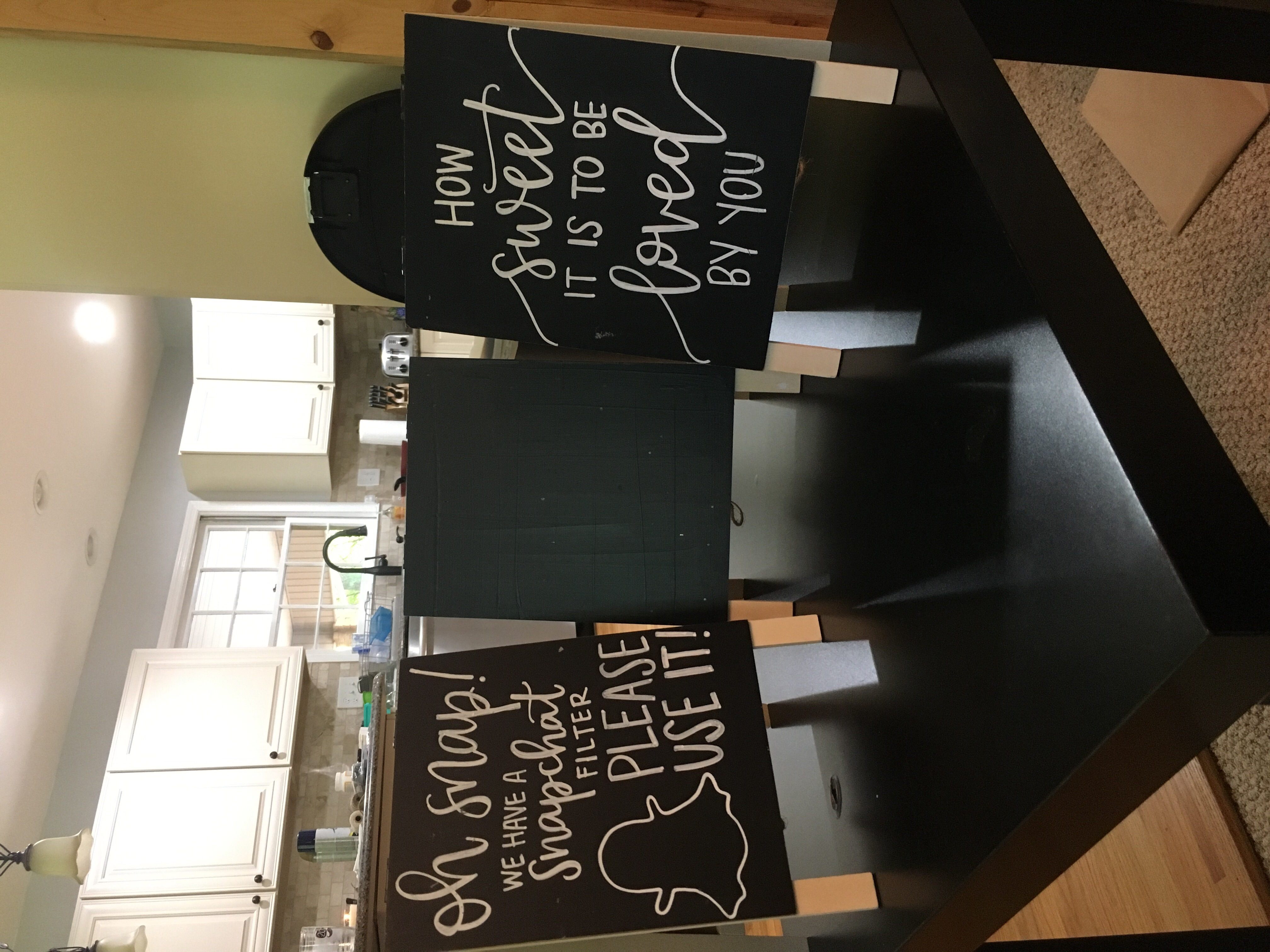 Small Chalkboard Signs