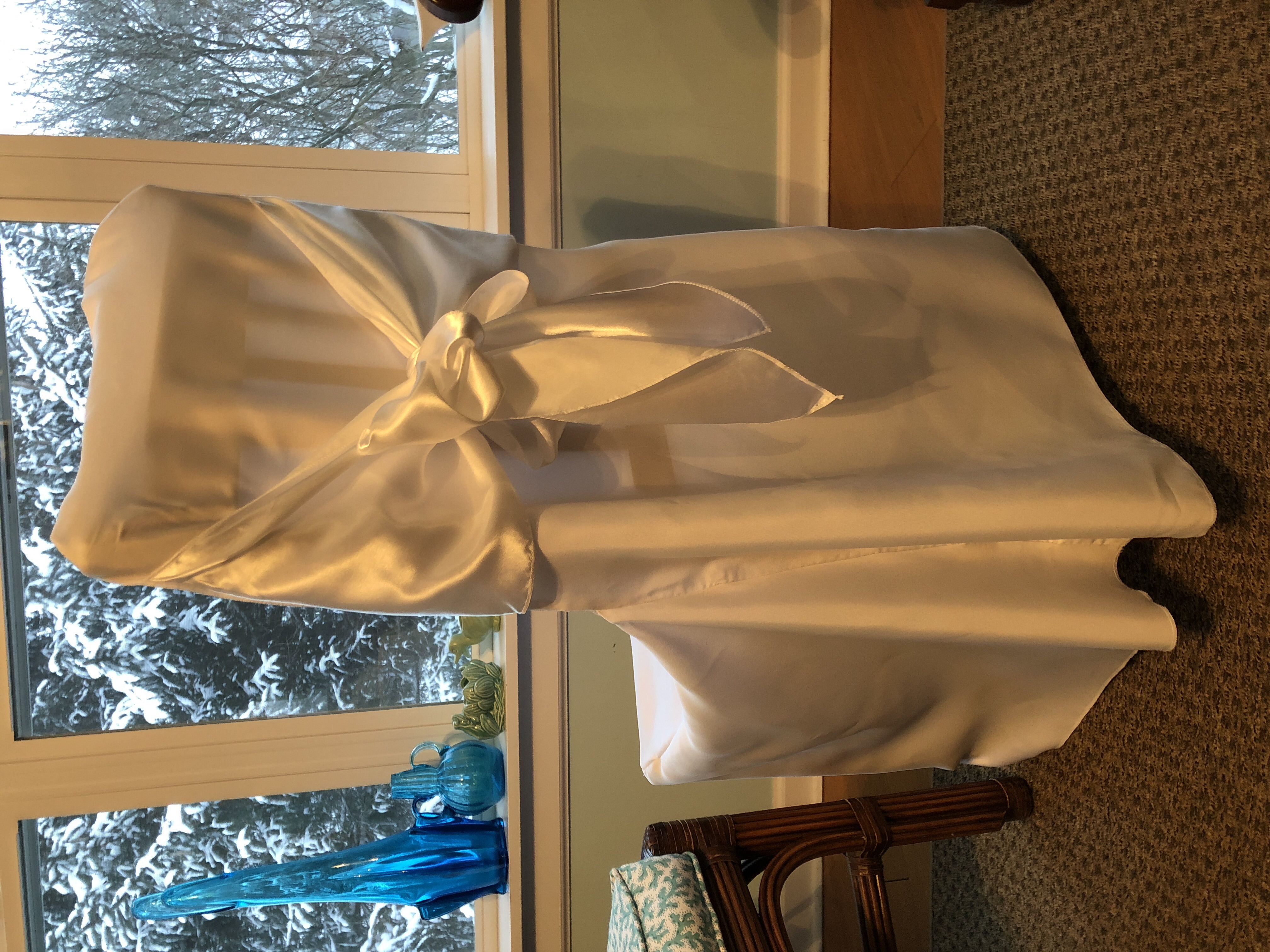 Banquet Chair Cover  With Sash