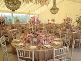 Sparkling Champagne Gold Sequin Tablecloths