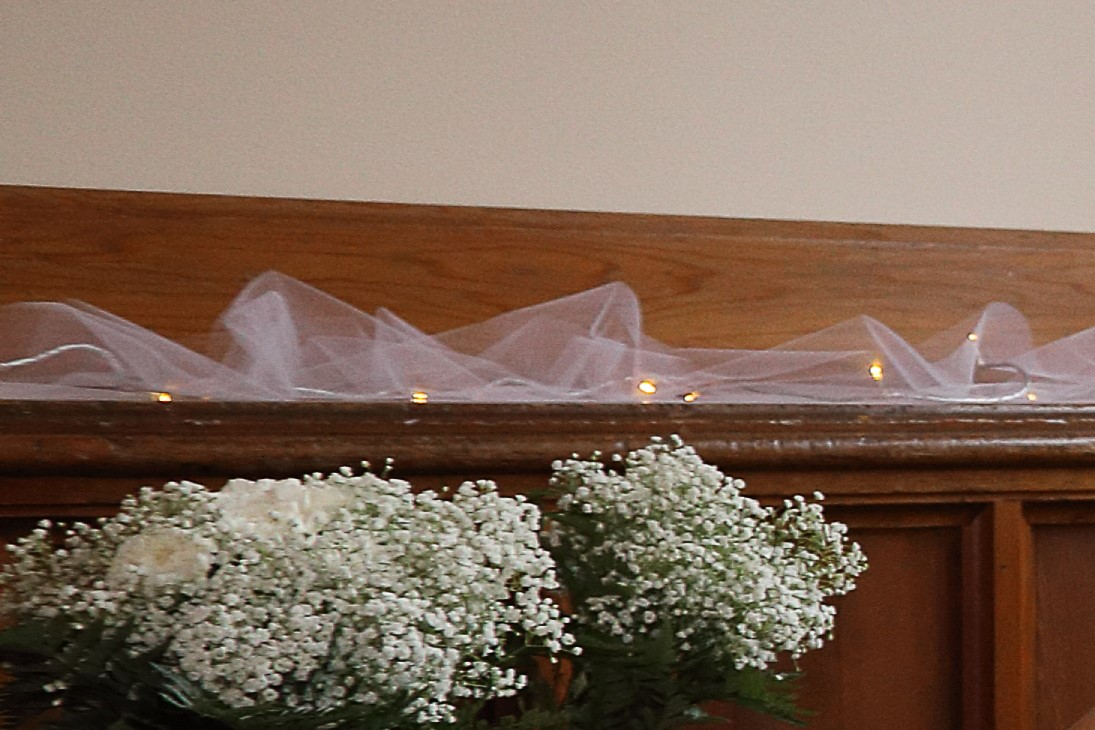 White Fairy Lights And Tulle