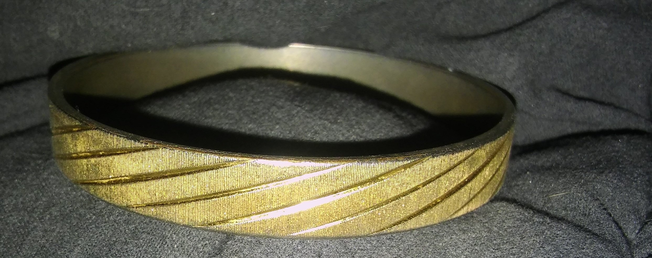 OBO Vintage Monet Bracelet Bangle Signed