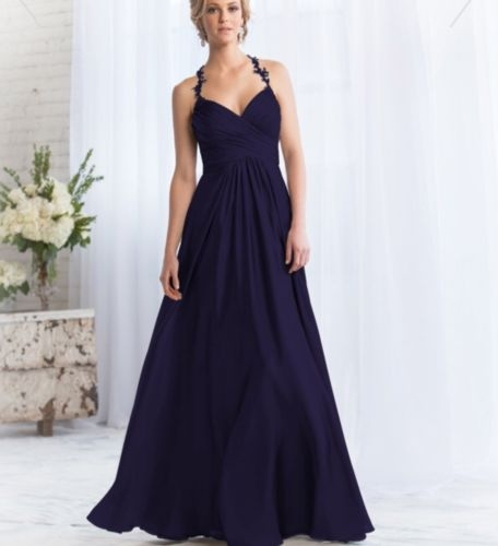 Jasmine - Belsoie Navy Bridesmaid Dress