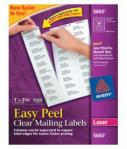 Avery Clear Easy Peel Labels-l
