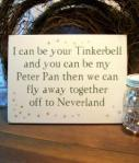 Peter Pan Tinkerbell Wedding P
