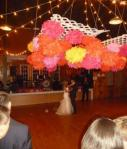 100 Wedding Pom Poms