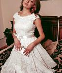 Natasha, Short Wedding Dress M