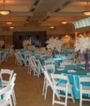 Turquoise Tablecloths