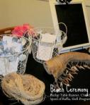 Beach Wedding Ceremony Items