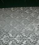 50ft- Damask Aisle Runner