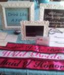 Lot Of Bride/mob/moh Sashes, F