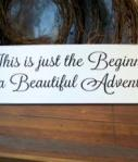 Wedding Decor Sign A Beautiful