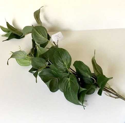 Silk  Green Pothos Hanging Stem 3 ft  Overall Length