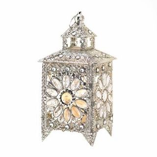 New Jeweled Candle Holder Lantern